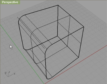 how to make a closed surface in rhino