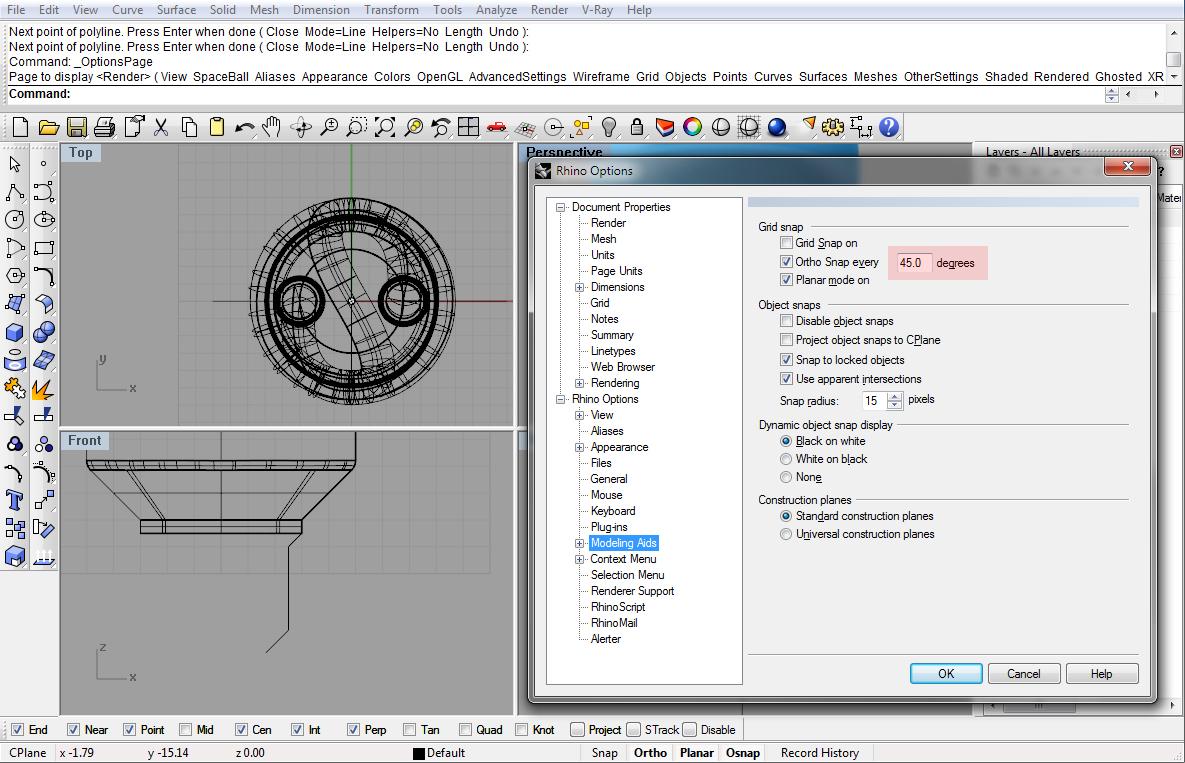 Modeling light bulb in Rhino tutorial | Rhinoceros 3D Help
