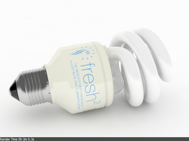 Rendering light bulb with VRay | Rhinoceros 3D Help