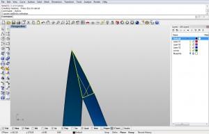 Triangle EdgeSrf surface