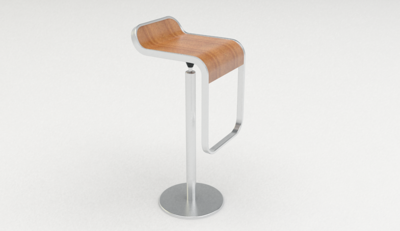 Modeling LEM bar stool made easy in Rhino | Rhinoceros 3D