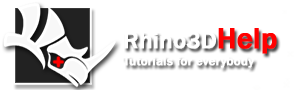 Rhinoceros 3D Help - Tutorials, Links, Galleries, Forum, Jobs, Video, Commands, CAD, Training